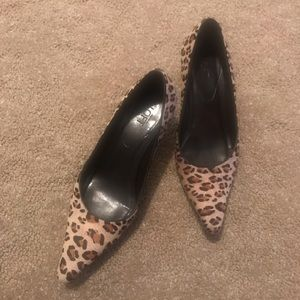 Animal print pumps!